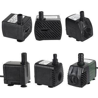 New Submersible Water Pump Aquarium Fish Tank Fountain Pond Powerhead Hydroponic