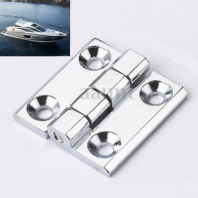 Stainless Steel Cover Marine Boat Square Deck Cast Door Hinge Hardware 1.5X1.5''