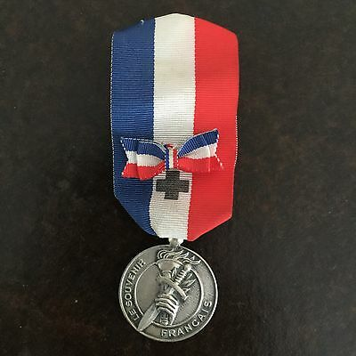 Silver Grade French War Veterans Medal