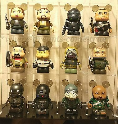 Vinylmation Rogue One: A Star Wars Story Series Set of 12 includes Chaser (NEW)