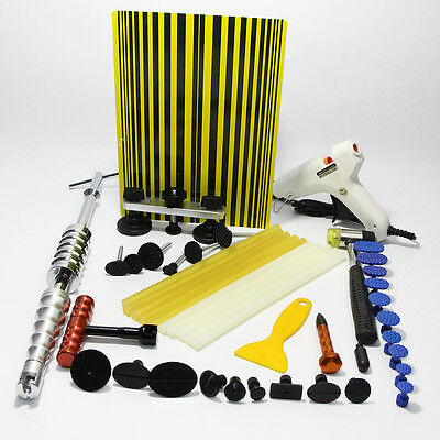 PDR Dent Puller Hammer Paintless Removal Hail Line Board Repair Damage Tool Kits