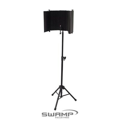 iSK RF-2 Sound Reflection Filter - Recording Vocal Booth with Stand
