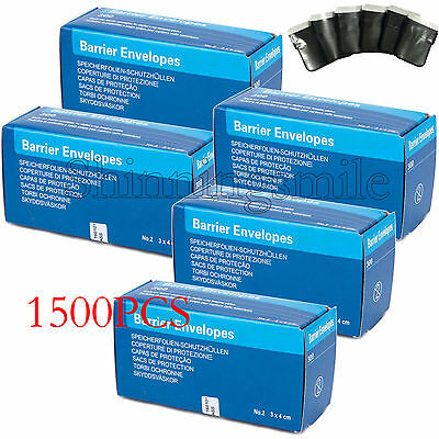 1500pcs No.2 Dental Digital X-Ray ScanX Barrier Envelopes for Phosphor Plate #2