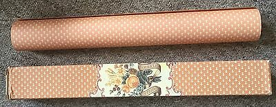 Vintage scented drawer lining paper roll, Crabtree & Evelyn Millefleurs, rare
