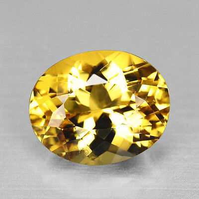 11.53Cts Glorious Precision Cut Natural Rich Yellow Heliodor Beryl Watch Video