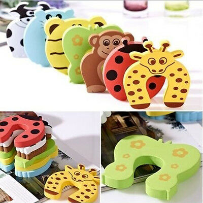 Cute Proofing Toddler Baby Finger Safety Guard Slam Foam Door Stoppers