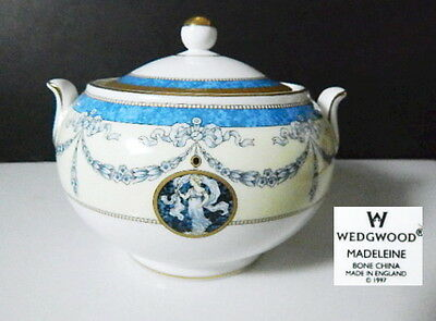 Wedgwood MADELEINE Sugar Bowl, Made in England, Rare !