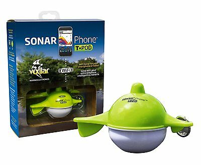 Vexilar SonarPhone with Transducer Pod SP100 - NEW IN BOX