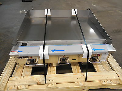 New S/D - Vulcan RRG Series Heavy Duty natural Gas Griddle, Model: 36RRG-1