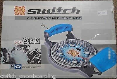 SWITCH A-99 Step-In, N-Type 4.0a Bindings, (proto-Team-N!); NEW in Box, RARE!