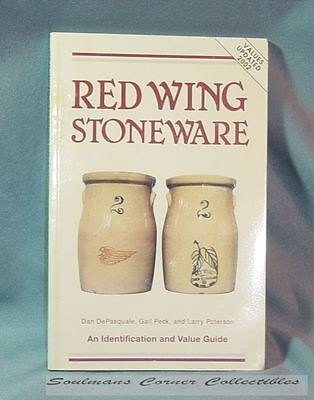 Great Red Wing Stoneware Identification & Value Guide ** FREE SHIPPING **
