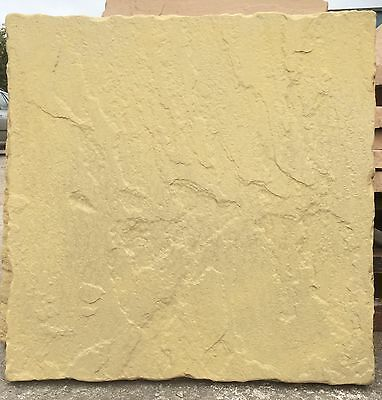 PAVING SLABS 50 450x450 BUFF/YELLOW PAVING SLABS.