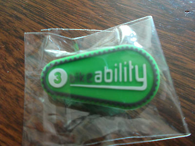 Bikeability Cycling Badge Rubber Level 3 Cycle Proficiency Brand New