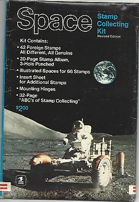 SPACE STAMP COLLECTING KIT - Revised Edition