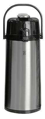 2.2 L Airpot w/Lever Stainless Steel Coffee Warmer Pot Commercial Restaurant