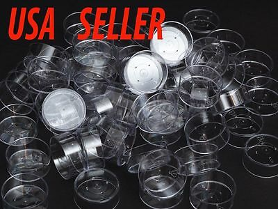 Polycarbonate Clear Plastic TEALIGHT Molds Cups (Lot of 100)