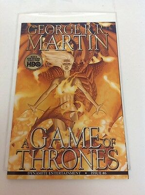 A Game Of Thrones Issue #6 Comic Book