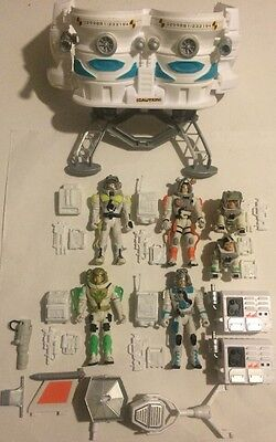 STAR FORCE CORPS SPACE MISSION glow in the dark 6 ACTION FIGURES LANARD + Extras