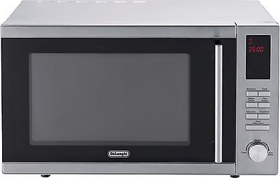 DeLonghi AM925EBY Free Standing 25L 800W Solo Microwave - Silver -From Argos