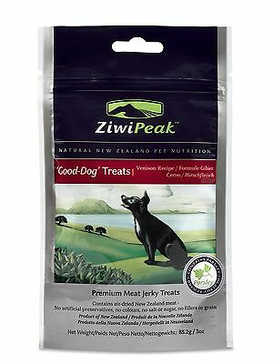 ZiwiPeak Air-Dried Dog Venison (air to lock in nutrition) {Good Dog Treats}  DTF