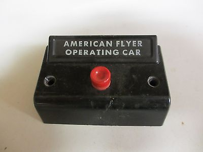 American Flyer Operating Car Control Button