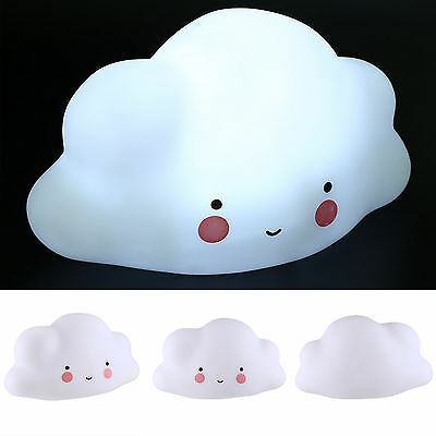 Lovely Cloud Kids Baby Children LED Night Light Lamp Home Decoration Xmas Gift
