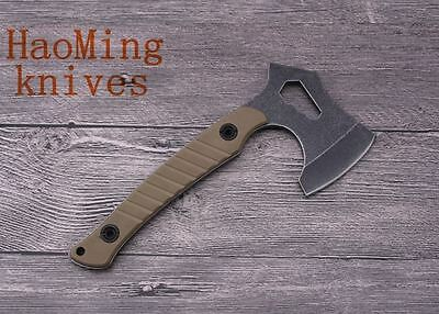 NEW Outdoor Camping Axe Woodworking Tomahawk Steel Hatchet Hunting Survival Tool