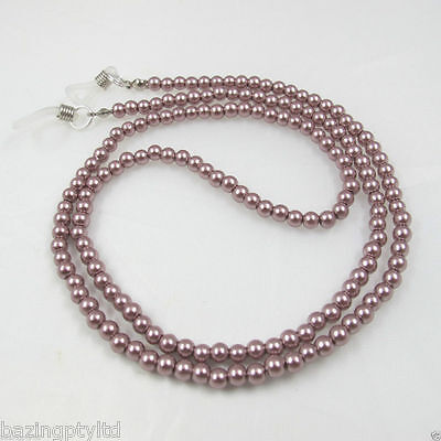 Rose Pearls Sunglasses Reading Glasses Spectacles Eyeglass Holder Chain Cord