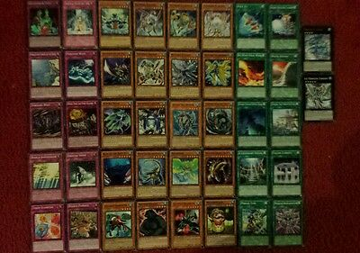 Yu-Gi-Oh Water Deck - 40 cards complete BONUS 5 cards