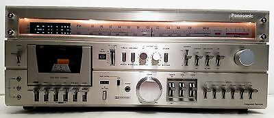 Vintage Panasonic RA-7700 Stereo Tuner Receiver & Cassette Stereo - Very Nice!