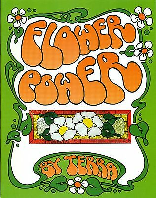 Flower Power Stained Glass Pattern Book, Tulips, Roses, Pansy, Big Flowers! more
