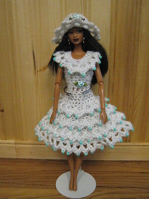Barbie doll clothes fits vintage & modern Barbie - handmade crocheted