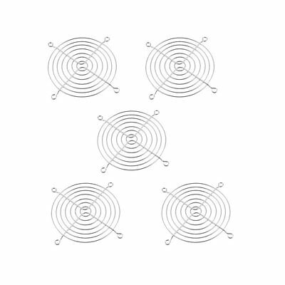 5 Pcs 90 x 90mm Cooling Fan Grill Metal Wire Finger Guards AD