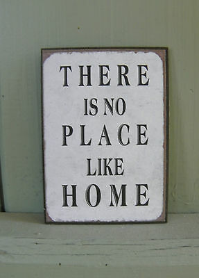 "Aimant / magnet rectangulaire ""There is no place like home"" 5x7cm"