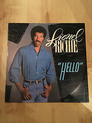 "Lionel Richie - Hello (12"" Vinyl Single) VG+/EX"
