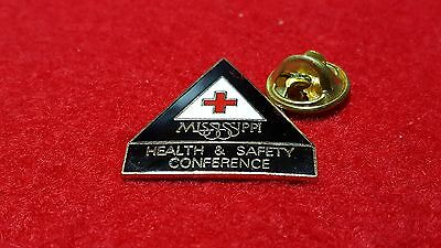 Mississippi State 1995 Health & Safety Conference. An American Red Cross pinback