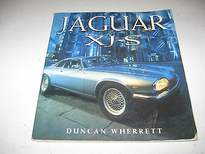 Jaguar XJS XJ-S book by Duncan Wherret (Paperback, 1992) - can mail anywhere