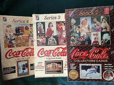 1994/ 95 Coca Cola (Collect-A-Card) Collector Trading Cards Factory Sealed 3 Box