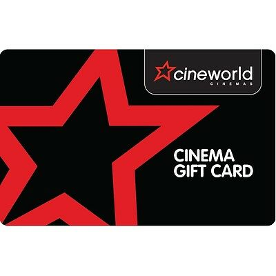 Cineworld Gift Card - 12+1=13 Month Unlimited Card Membership Just £139.99