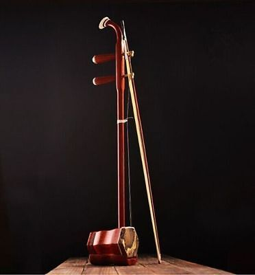 CHINESE TRADITIONAL Red rosewood erhu instrument