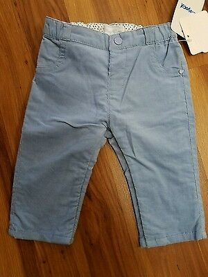 NWT Mayoral Corduroy Baby Blue  Pants Size 12 Months