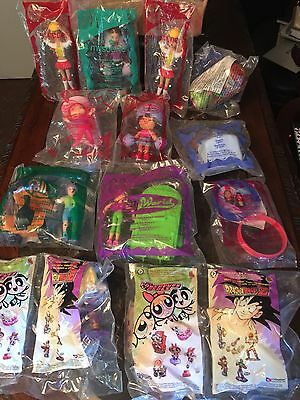 Collectible Dolls ,MacDonald & Burger King  My Scene,strawberry Shortcake & More