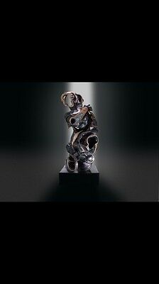 Beautiful & Scarce Bronze By Fernández Arman Born In Nice & Lived In New York !