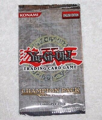 Yu-Gi-Oh! Champion Pack 4 Four   Factory Sealed Pack   YUGIOH   New