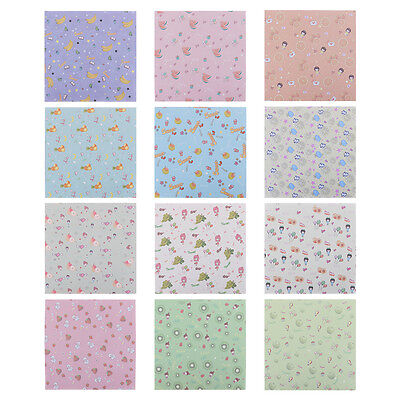 Fruit Pattern Origami Crane Paper 70 Sheets/Pack 14.2 * 14.2CM Lucky Wish Paper