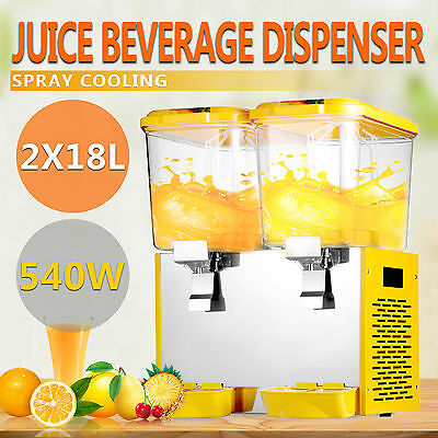 36L Getränkespender Kaltgetränke Dispenser Refrigerated Juicer Jet Spray