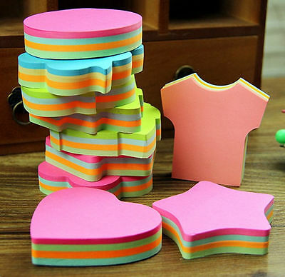 Multicolor Cute Sticker Bookmark Sticky Notes Point Marker Memo Post Tab Flag