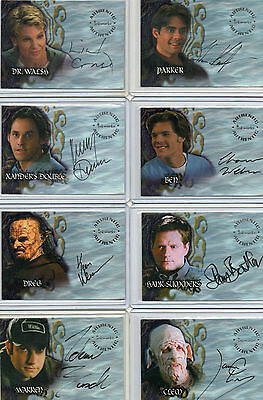 Buffy The Vampire Slayer & Spike  -   Autograph & Pieceworks Selection NM