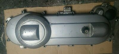 piaggio typhoon engine transmission variator drive cover, kick start mechanism