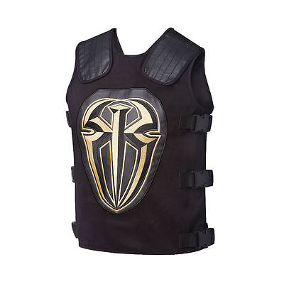 WWE Roman Reigns Gold WWE Authentic Tactical Replica Vest Official Store